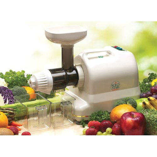 Tribest Solo Star-II SS-9002 Single-Auger Juice Extractor