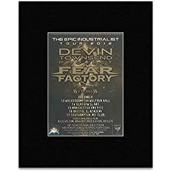 DEVIN TOWNSEND PROJECT - The Epic Industrialist Tour 2012 Mini Poster - 13.5x10cm