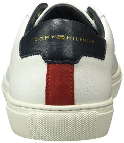 Tommy Hilfiger Herren M2285ount 4a1 Sneakers Weiß (White 100)