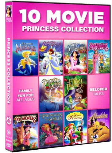 10 Movie Princess Collection (Princess Movie Collection)