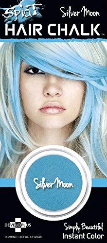 Splat Hair Chalk Instant Vibrant Color Silver (Silver Chalk)