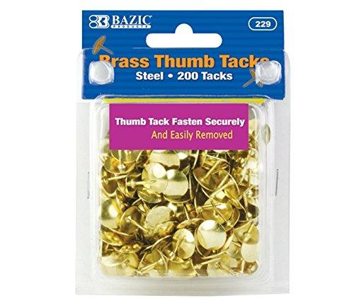 Bazic Brass Thumb Resists Points