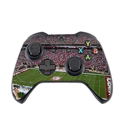 Alabama Crimson Tide Xbox One Controller Vinyl Decal Sticker Skin by Compass Litho by Compass Litho