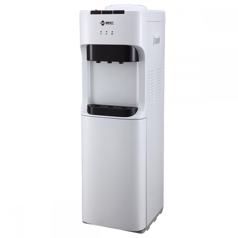 Primo Top Loading Hot Cold Water Dispenser White Water Cooler by BestMassage