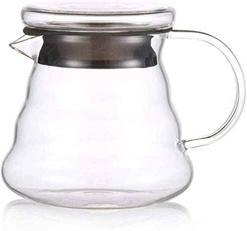 XXDMZ Coffee Dripper Style Server Heat Resistant Glass Coffee percolators Coffee Share Pot Coffee dripper