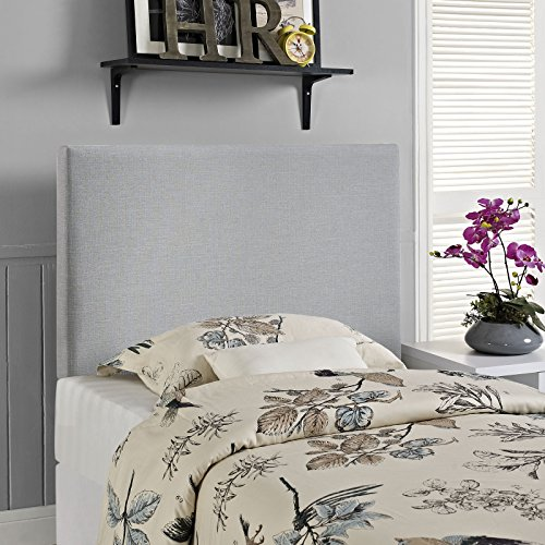 Modway Region Twin Upholstered Linen Headboard in Gray by Modway (Image #4)