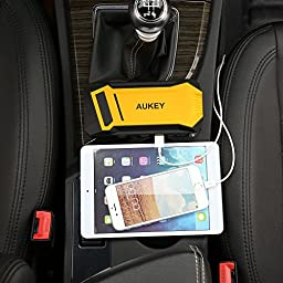 AUKEY Jump Starter with 400A Peak Current & 12000mAh Portable Charger for Car Battery, Boat, Motorcycles, Lawnmowers and More