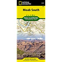 Moab South, Utah: Moab's Most Accurate Map