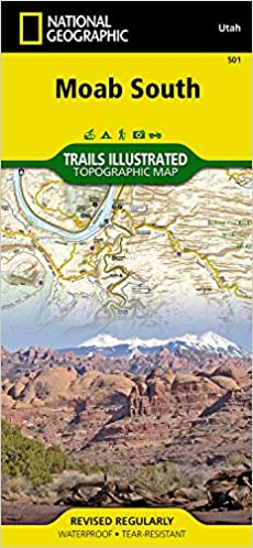 Moab South (National Geographic Trails Illustrated Map): National ...