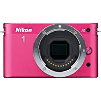 Nikon 1 J2 10.1 MP HD Digital Camera (Pink) Body Only