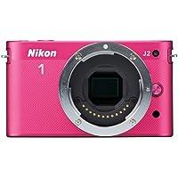 Nikon 1 J2 10.1 MP HD Digital Camera (Pink) Body Only