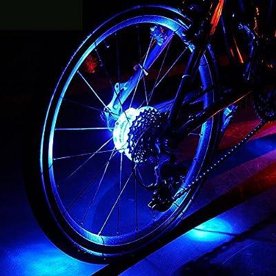 Luces LED resistentes al agua para rueda de bicicleta, de la marca ...