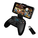 Bounabay FlyDigi Apex Motion Sensing Wireless Controller Game Pad for Android Smartphone Tablet PC TV with Bracket and game controller adapter