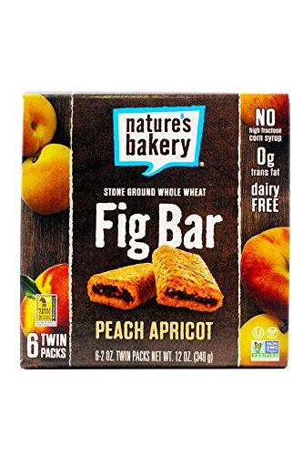 e Wheat Fig Bars - Peach Apricot - 6 ct (Apricot Granola)