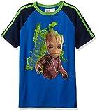 Marvel Boys' Guardians of Galaxy Glow in the Dark Groot T-Shirt