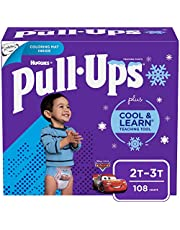 Boys Potty Training Underwear, 2T-3T, Pull-Ups Cool & Learn for Toddlers, 108ct, One Month Supply