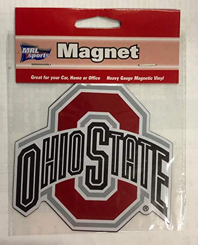 (Ohio State University OSU Buckeyes 4 inch Magnet Heavy Duty NCAA Auto)