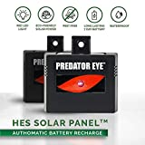 How It Works The Predator Eye by Aspectek protects your property, including livestock, from nighttime pests such as coyotes, raccoons, skunks, foxes, wolves, deer, cougars, and even cats. Solar-charged during the day, the battery will...