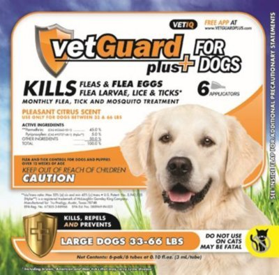 VetGuard Plus – Large Dogs – 33-66 lbs. – 6 month supply, My Pet Supplies