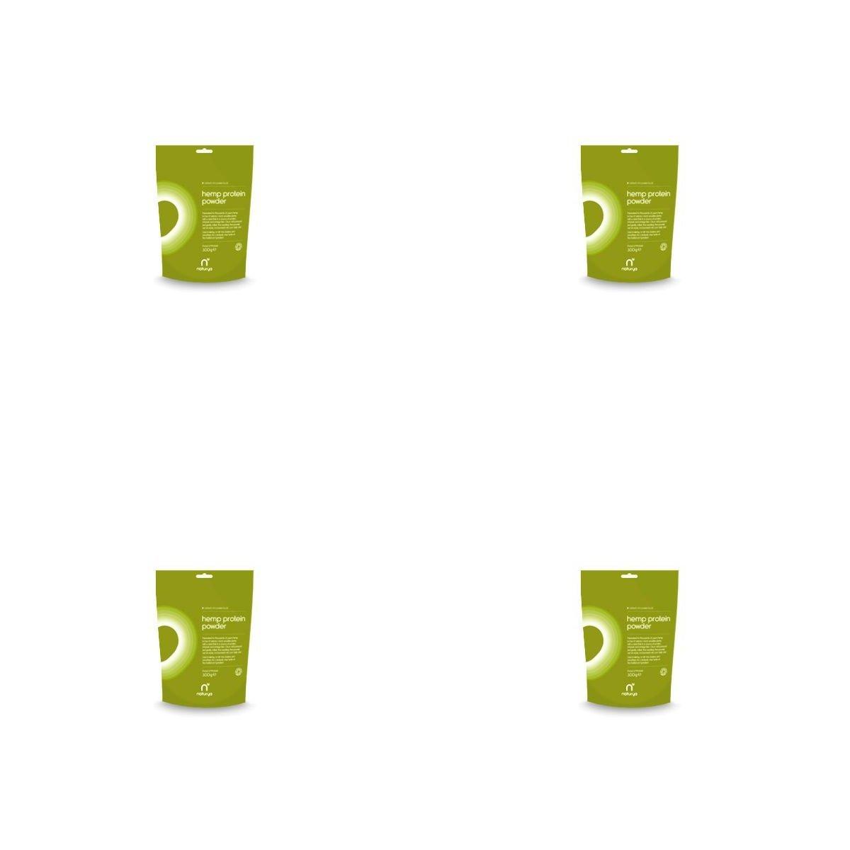 (4 PACK) - Naturya Organic Hemp Protein Powder| 300 g |4 PACK - SUPER SAVER - SAVE MONEY