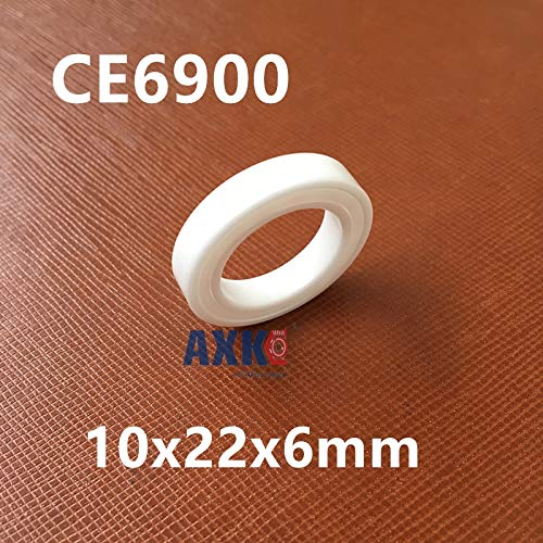 Ochoos 61900 6900 zro2 Full Ceramic Bearing 10x22x6mm Thin Section