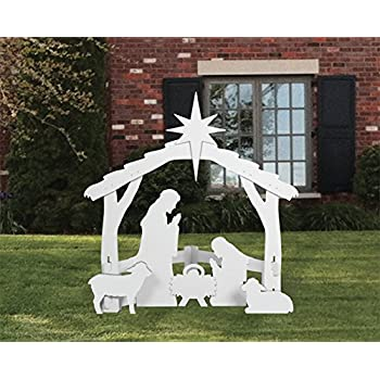 Would Outdoor nativity sets something