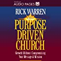 The Purpose-Driven Church Audiobook by Rick Warren Narrated by Jay Charles