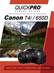 QuickPro Camera Guides are brimming with great tips and tricks to get the most out of your camera. QuickPro Camera Guides teaches you the fundamentals of digital photography applied to your Canon T4i. With these new tools you will be able to ...