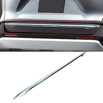 Exterior Accessories YUZHONGTIAN Car Accessories Rear License Bottom Strip Decor Trim ABS Chrome for Toyota RAV4 XA50 2019+