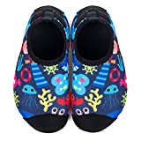 L-RUN Kids Swimming Shoes Boys Girls Anti-Skid