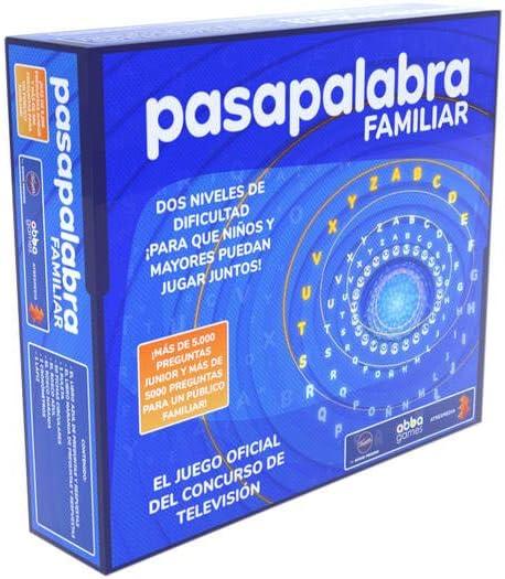 Famosa- Pasapalabra Familiar, Juego de Mesa (700016088)