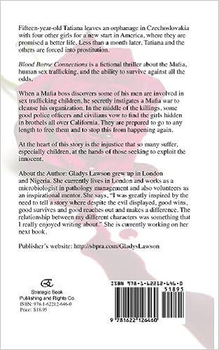 Blood Borne Connections: Gladys Lawson: 9781622126460: Amazon.com ...