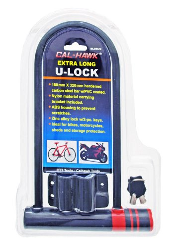 Bike Motorcycle Bicycle Lock Duty Anti Theft X NEW