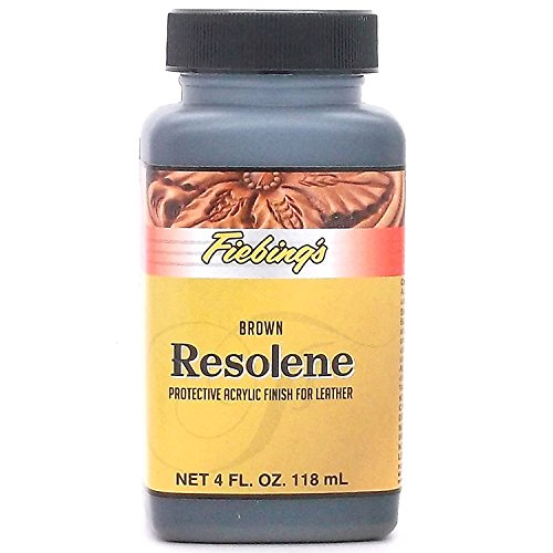 - Fiebing's Brown Acrylic Resolene, 4 Oz. - Protects Leather Finish