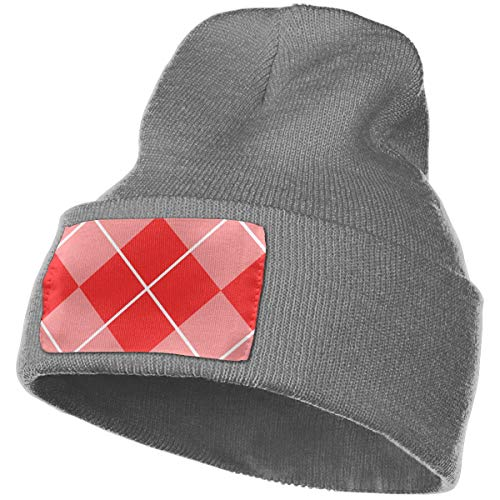 Helidoud Argyle Style Winter Beanie Hat Knit Hat Cap for for Men & Women