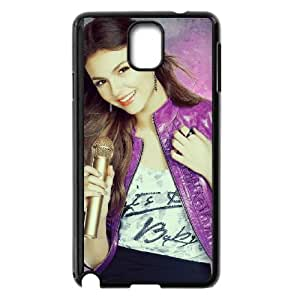 victoria justice singing 2 Samsung Galaxy Note 3 Cell Phone Case Black yyfD-224643