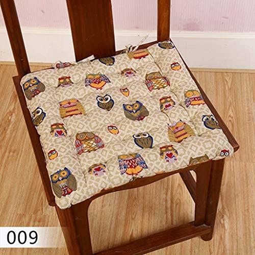Seat Cushions Cotton Linen Square Throw Pillows Floor Soft Chair Almofada Rural Style Futon Mat Cojines