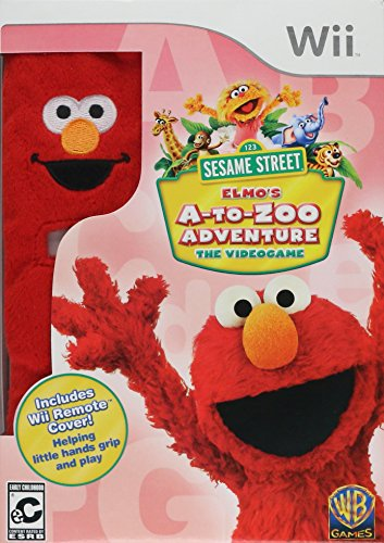 Sesame Street: Elmo's A-to-Zoo Adventure - Nintendo Wii (Wii Games Toddler)