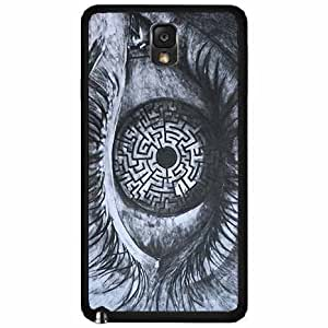 Eye maze- Plastic Phone Case Back Cover Samsung Galaxy Note III 3 N9002