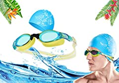 1) BeeSchool swim goggles are designed according to the international popular color scheme, and the fashion is bold and bold. The yellow washers are integrated with the black nose bridge, set against the blue gold lens, and the front looks ve...