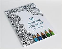 NZ Native Birds Colouring Book by Joe McMenamin