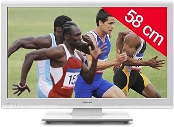 Toshiba televisor LED 23EL934G HD TV 1080p, 23 Pulgadas (58 cm) 16/9, 100 Hz, DVB-T HD, HDMI X2, USB 2.0 + 3 años de garantía: Amazon.es: Electrónica