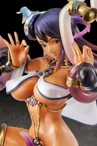 Queen's Blade Rebellion: Luna Luna, The Moon Dancer Scale Figure by Megahouse