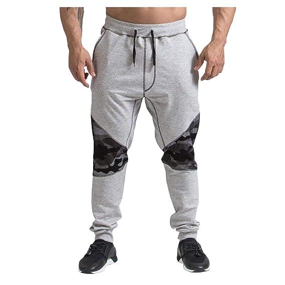 FELZ Pantalones Hombre Casuales Deporte Elásticos Joggers Largos ...