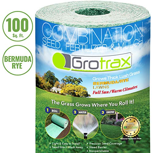 Grotrax Biodegradable Grass Seed Mat