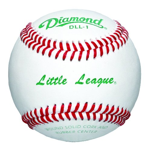 Diamond Little League Competition Grade Baseball, Dozen by Diamond Sports