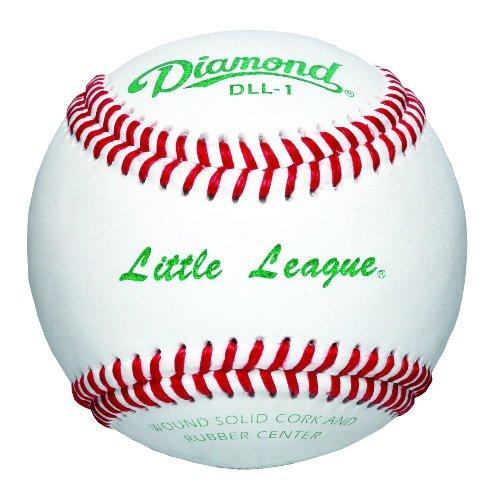 Diamond Little League Competition Grade Baseball, Dozen (Grade Leather Baseball)