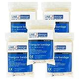 LINE2design Triangular Bandage First Aid Bandage