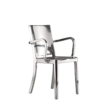 Astounding Amazon Com Rustic Deco Modern Stainless Steel Metal Dining Ncnpc Chair Design For Home Ncnpcorg