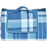 AmazonBasics Plaid Outdoor Picnic Blanket with Waterproof Backing, 175 x 200 cm